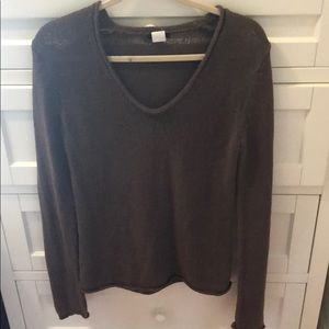 Knit v-neck sweater from j. Crew